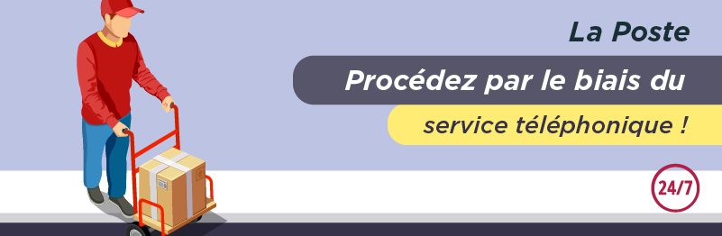 Service client pour envoyer un colis avec La Poste