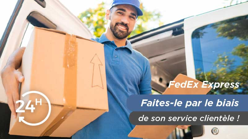Appeler par téléphone FedEx Express