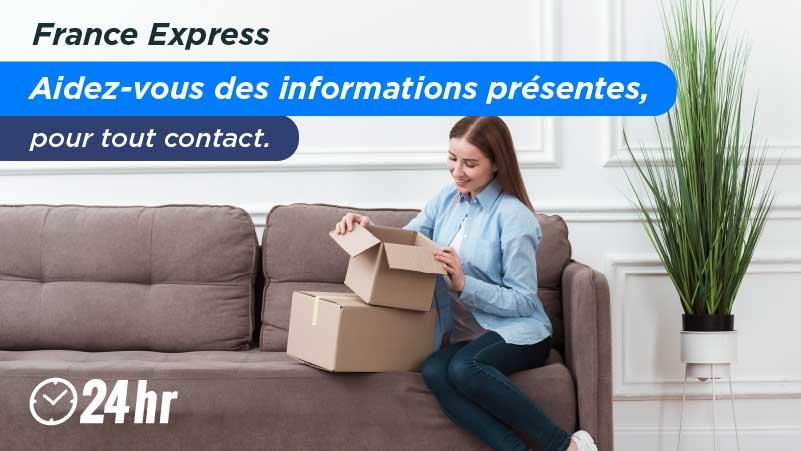 Appeler par téléphone France Express