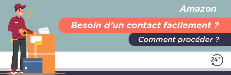Service client pour envoyer un colis avec Amazon