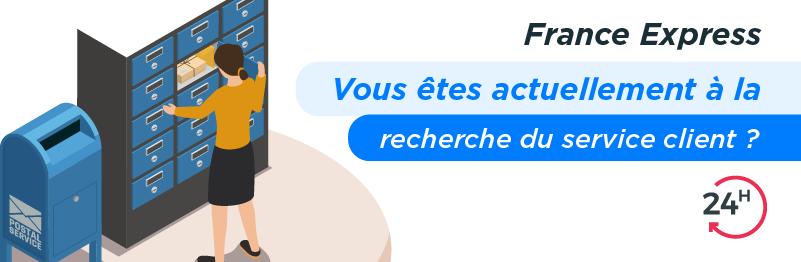 Service client por envoyer un colis avec France Express