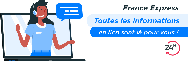 Service relation client France Express