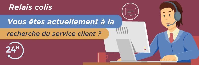 Service relation client Relais Colis