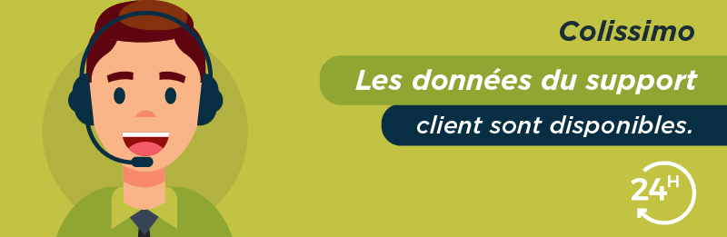 Service relation client Colissimo