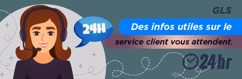 Service relation client GLS