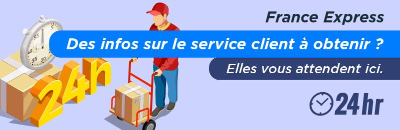 Service client pour envoyer un colis avec France Express