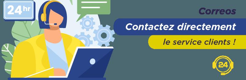 Service relation client Correos