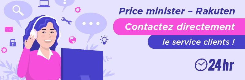 Appeler par téléphone PriceMinister - Rakuten