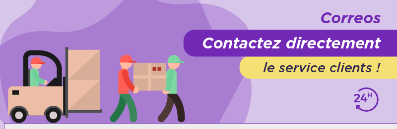 comment contacter Correos