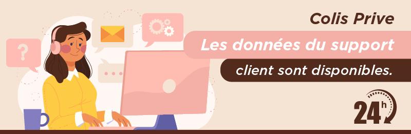 Service relation client Colis Privé