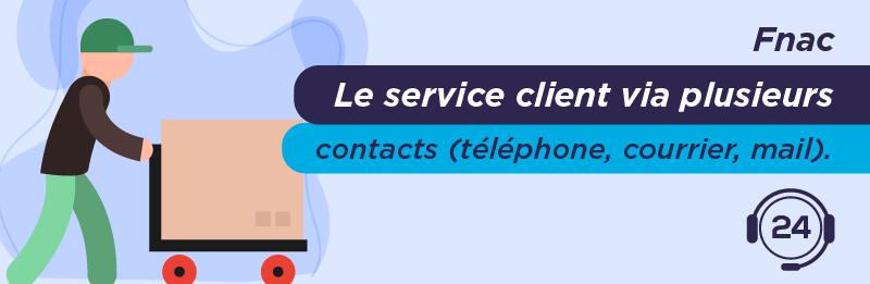 service relation client Fnac